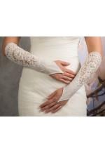 Перчатки №2 белые и айвори